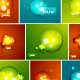 Abstract Bubbles vector composition pack - GraphicRiver Item for Sale