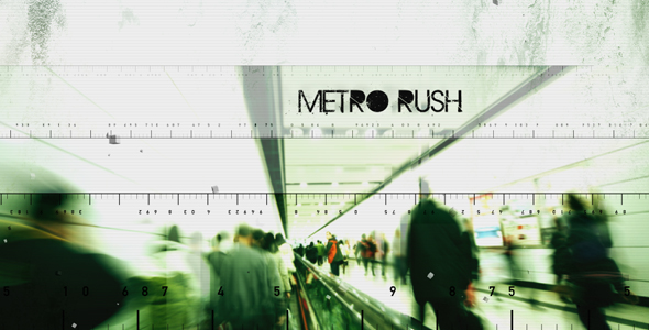 After Effects Project - VideoHive Metro Rush 146590