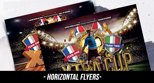 HORIZONTAL FLYERS