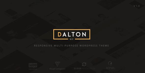 Dalton – Clean Multi-Purpose WordPress Theme (Creative) Download
