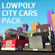 Low Poly City Cars Pack 1