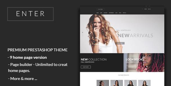 JMS Enter – Responsive Fashion Prestashop Theme (Fashion) Download