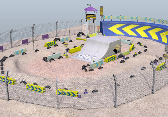 3DOcean BMX or Motor Bike Track 11994835