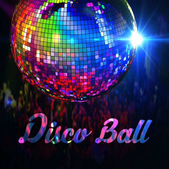 3DOcean Realistic Disco Ball 11995166