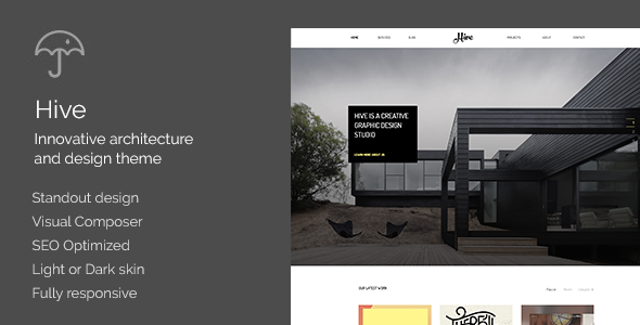 Hive – Architecture/Creative Agency Theme (Creative) Download