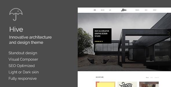 Hive – Architecture/Creative Agency Theme (Creative) Download
