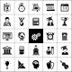 University Icons Black