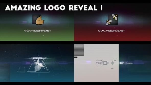 Abstract Logo Reveal