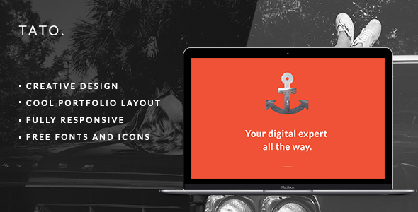 TATO – Portfolio & Agency Theme (Portfolio) Download