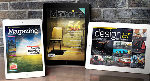iPad and Tablet e-Magazines