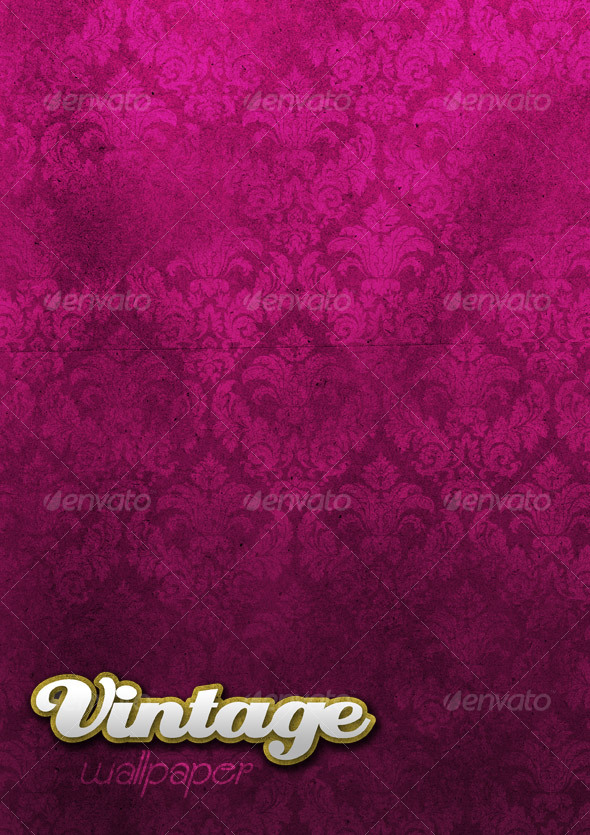 Graphic River Vintage Wallpaper Graphics -  Backgrounds  Patterns 32323