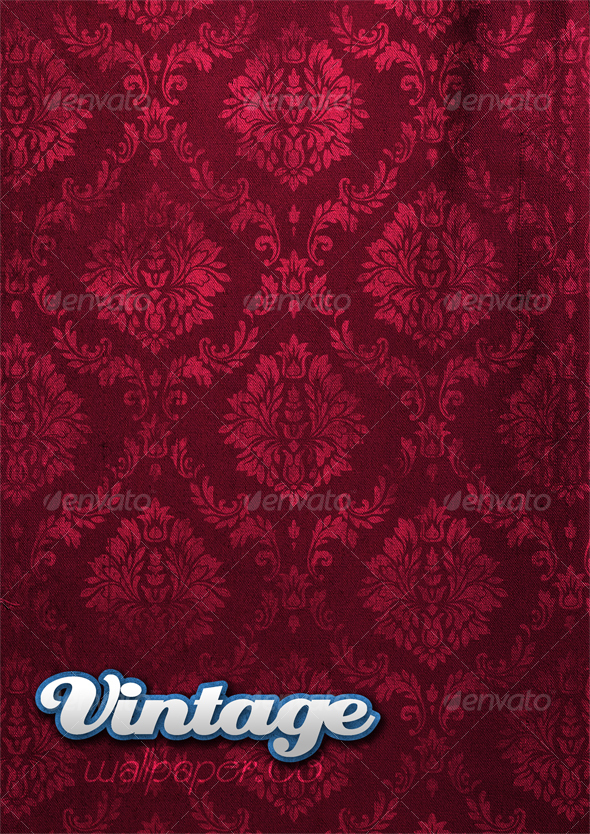 Graphic River Vintage Wallpaper 03 Graphics -  Backgrounds  Patterns 41039
