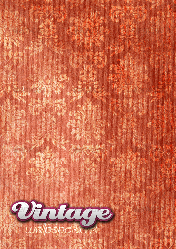 Graphic River Vintage Wallpaper 02 Graphics -  Backgrounds  Patterns 41033