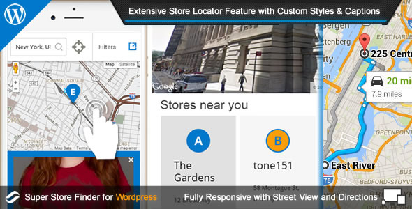 Super Store Finder for Wordpress - CodeCanyon Item for Sale