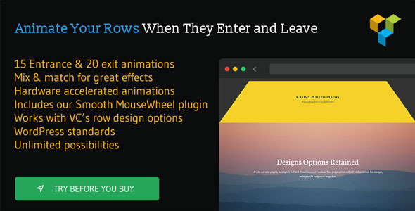 Row Scroll Animations for Visual Composer (Add-ons) Download