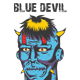 Blue Devil T-shirt Template