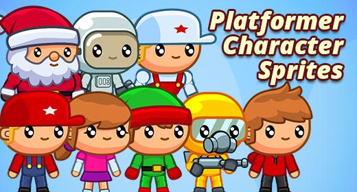 Platformer Character Sprites
