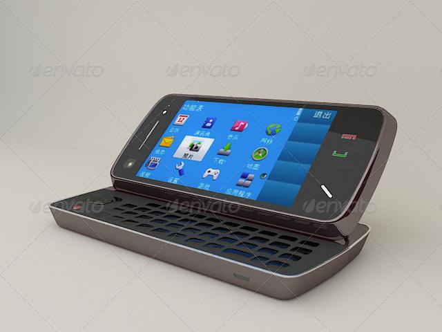 3DOcean NOKIA N97 Mobilephone 146693