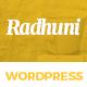 Italian Radhuni - Food & Resturant WordPress Theme