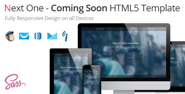 Next One – Coming Soon HTML5 Template (Specialty Pages) Download