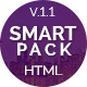 Landing Pages Pack Multipurpose HTML - SmartPack