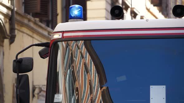 Scenes Of An Italian Firetruck 2 Of 7