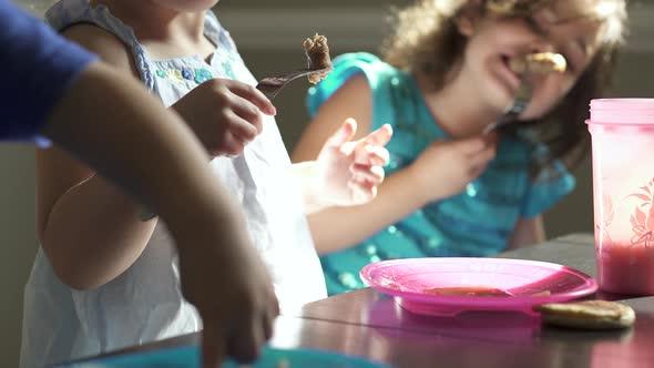 Scenes Of Children Eating 7 Of 8
