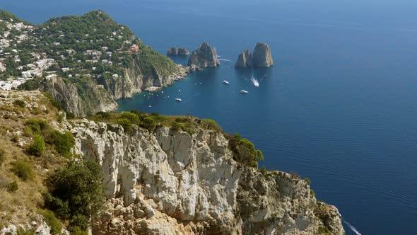 Scenes Of The Faraglioni Near The Isle Of Capri 2 Of 5