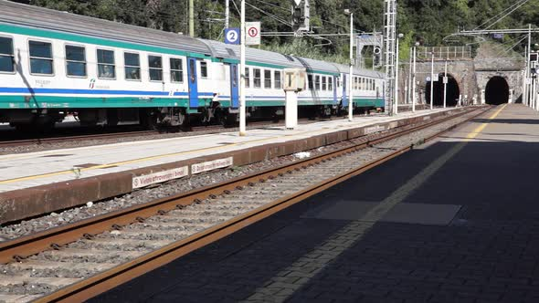 Scenes Of The Monterosso Train Station 3 Of 5