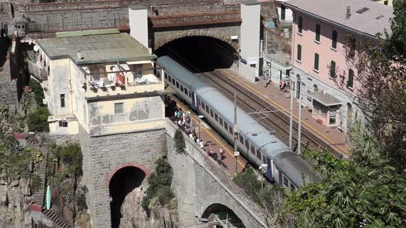 Train Station In Riomaggiore 5 Of 5