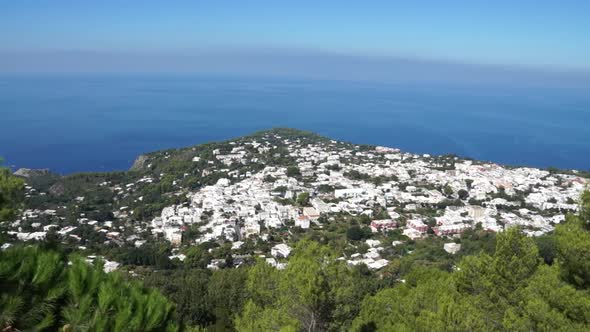 View From The Mount Solaro Chair Lift On The Isle Of Capri 6 Of 7