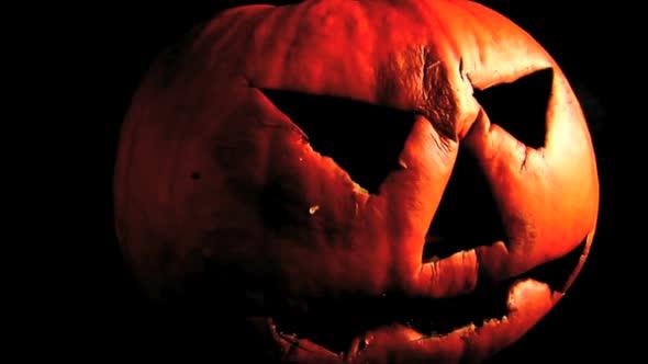 Pumpkin Face Demise