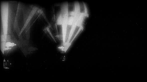 Black & White Hot Air Balloon 4