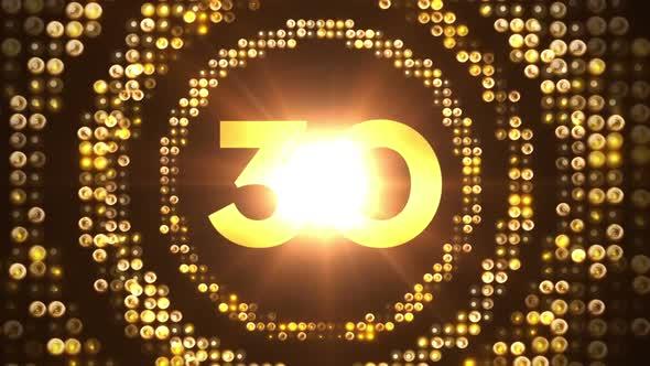 Circle Leds Countdown 60