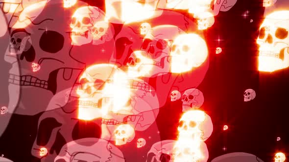 Skulls Particle Loop