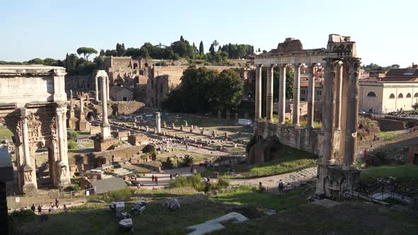 Ruins Of The Roman Forum 6 Of 6