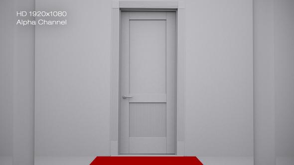 3D Door Open 3