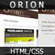 Orion | Elegant portfolio Template - ThemeForest Item for Sale