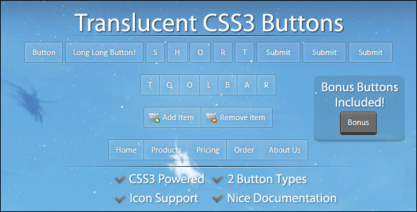 Lut CSS3 Butang - WorldWideScripts.net Item for Sale
