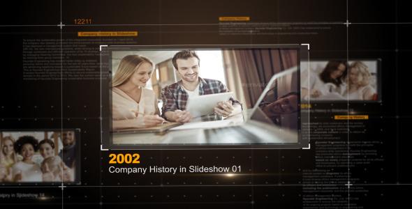 Company History in Slideshow