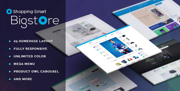 Image of Leo Big Store Prestashop Theme