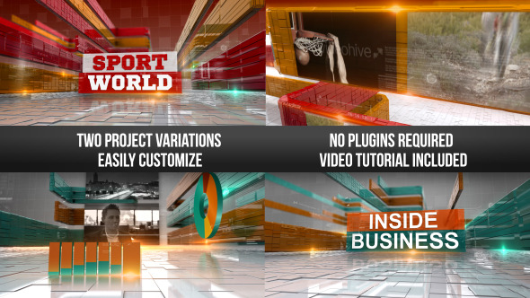 Corporate Business & Sports Show Intro
