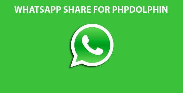 Whatsapp share for Phpdolphin (Add-ons) Download