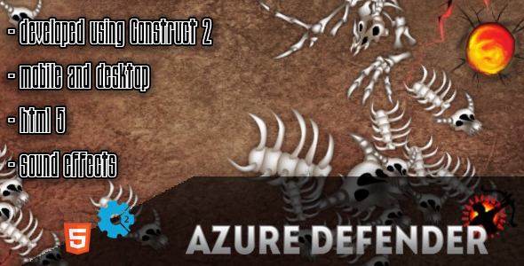 Azure Defender - CodeCanyon Item for Sale