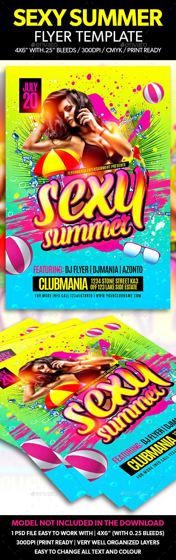 Sexy Summer Flyer Template