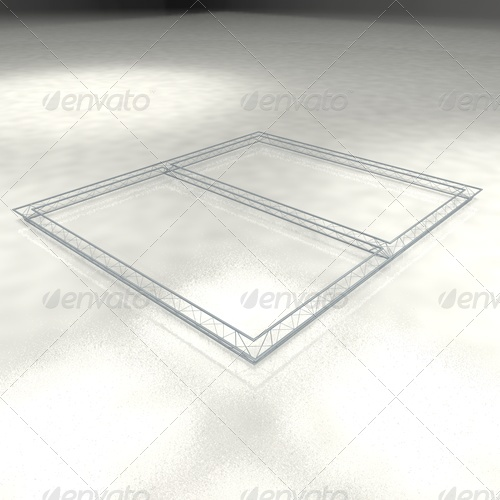 truss trio 7x8 meter - 3DOcean Item for Sale