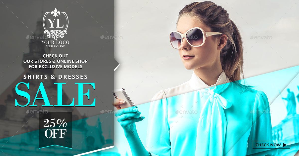 52 Sale & Fashion Web Banners - 4 in 1 Bundle by Belegija ...