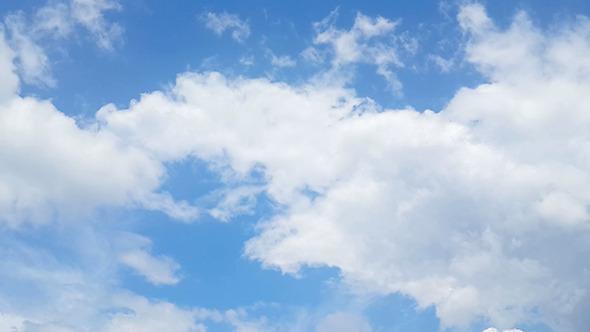 Loop Of Beautiful Clouds