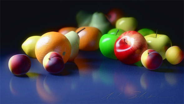 3DOcean Fruit set 12016159