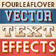 Illustrator Vintage Vector Text Effects Actions